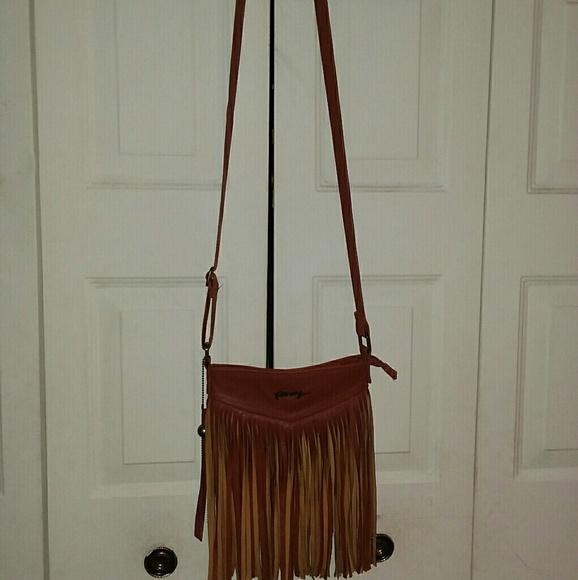 Roxy Handbags - Roxy Crossbody bag with fringe